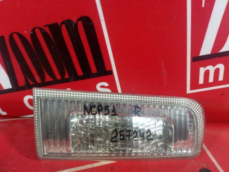 Фонарь (стоп-сигнал) Toyota Succeed NCP50 1NZ-FE 2002 задний правый 52-077