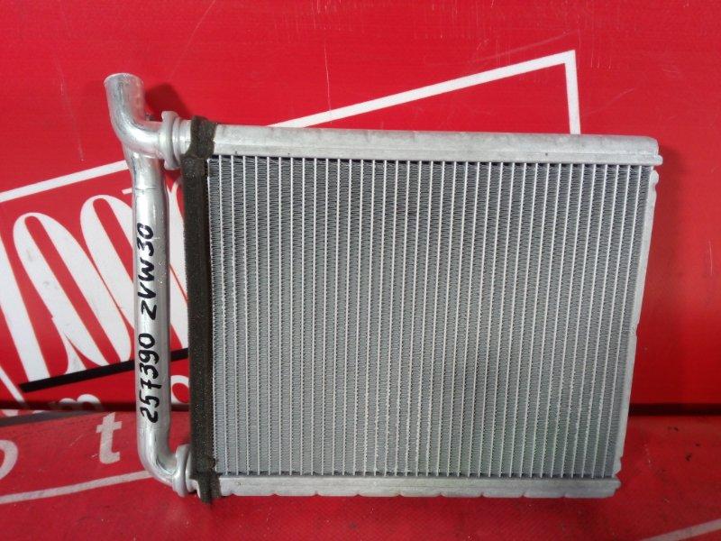 Радиатор отопителя Toyota Prius ZVW30 2ZR-FXE 2009
