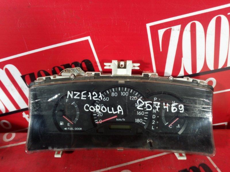 Комбинация приборов (спидометр) Toyota Corolla NZE121 1NZ-FE `2001 83800-1H030 1575103151