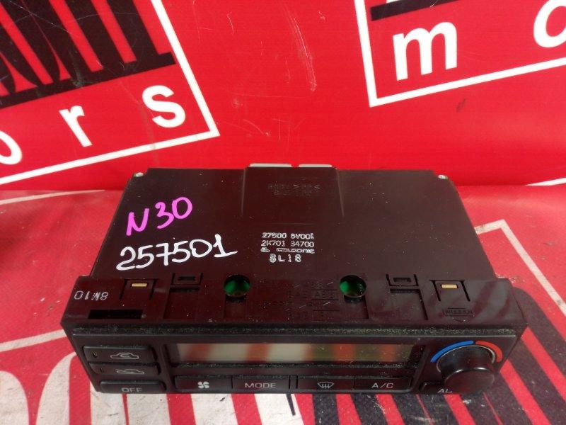 Блок управления отоплением и вентиляцией Nissan R'nessa N30 SR20DE 1997