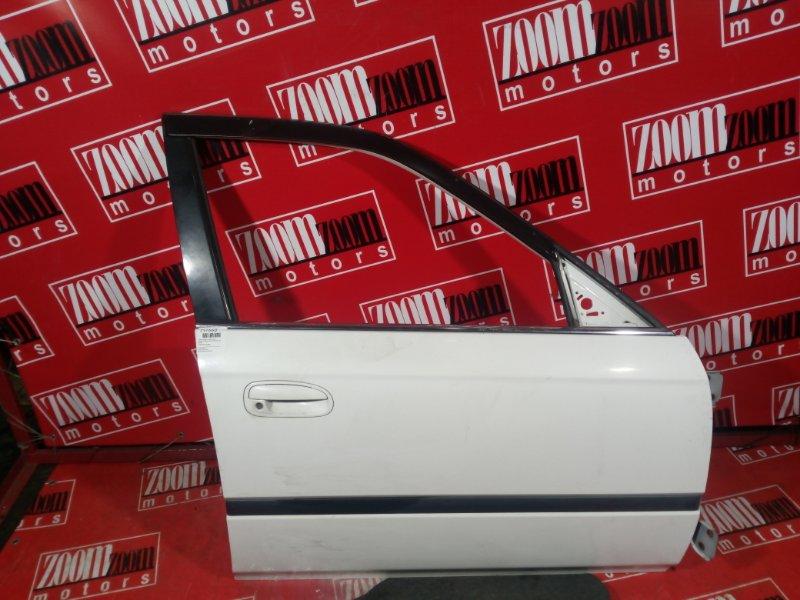 Дверь боковая Honda Domani MB3 D15B 1996 передняя правая белый