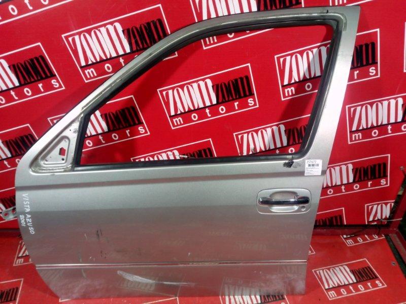 Дверь боковая Toyota Vista Ardeo SV50 3S-FE 1998 передняя левая серый
