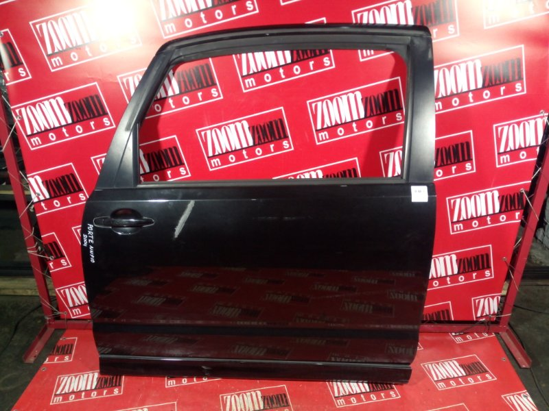 Дверь боковая Toyota Porte NNP10 1NZ-FE 2004 левая черный