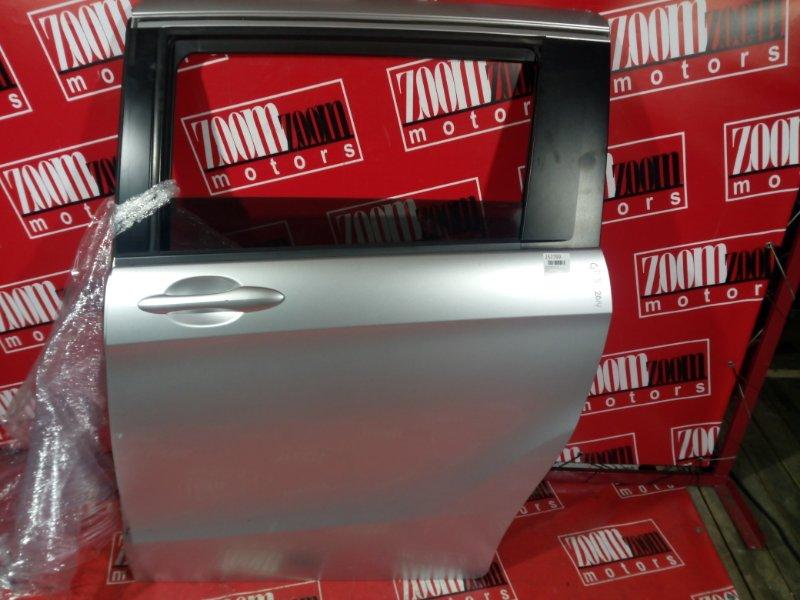 Дверь боковая Honda Freed GP3 LEA 2011 задняя левая серебро