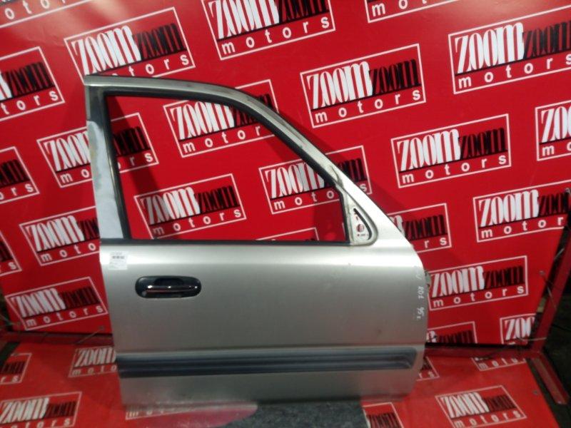 Дверь боковая Honda Cr-V RD1 B20B 1997 передняя правая серебро