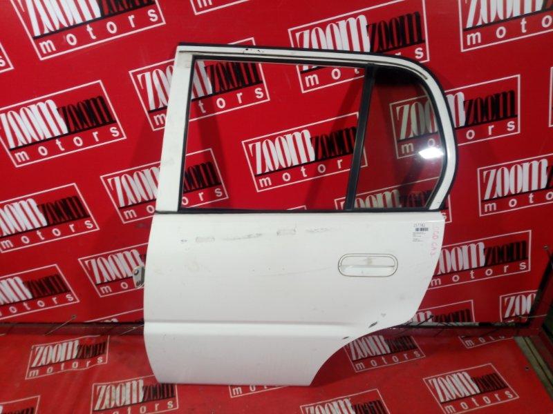Дверь боковая Honda Logo GA3 D13B 1999 задняя левая белый