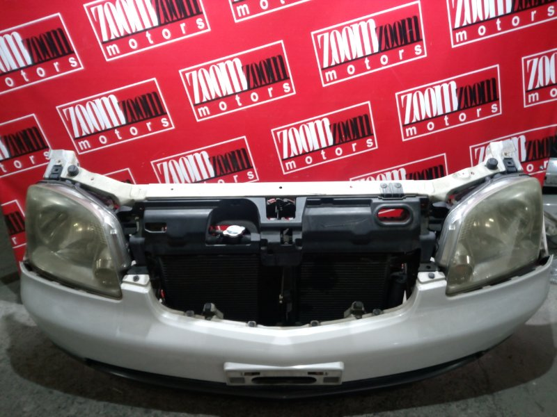 Nose cut Mitsubishi Dion CR9W 4G93 2000 передний белый перламутр