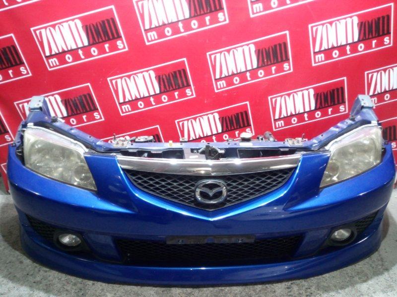 Nose cut Mazda Premacy CP8W FP-DE 2001 передний синий
