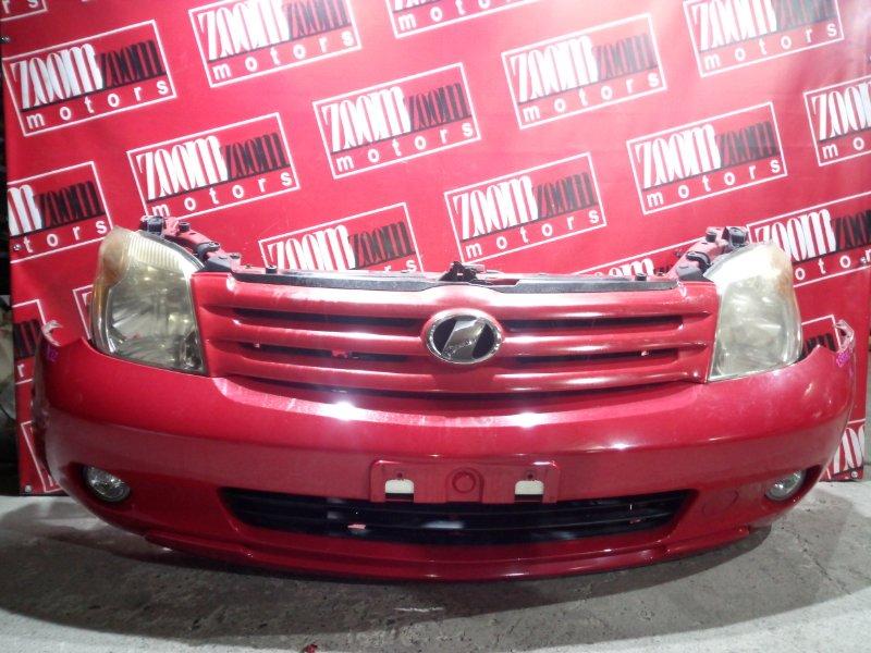Nose cut Toyota Ist NCP60 2NZ-FE 2005 передний красный 52-148