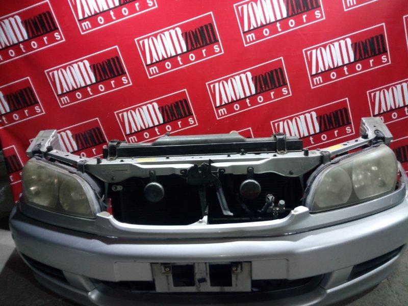 Планка под фару Toyota Ipsum CXM10 3C-T 1998 передняя серебро