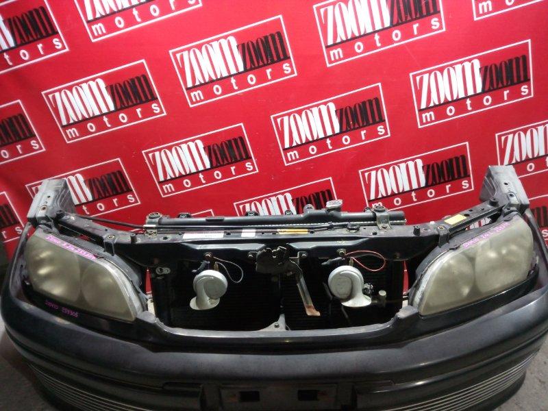 Планка под фару Toyota Ipsum SXM10 3S-FE 1998 передняя черный
