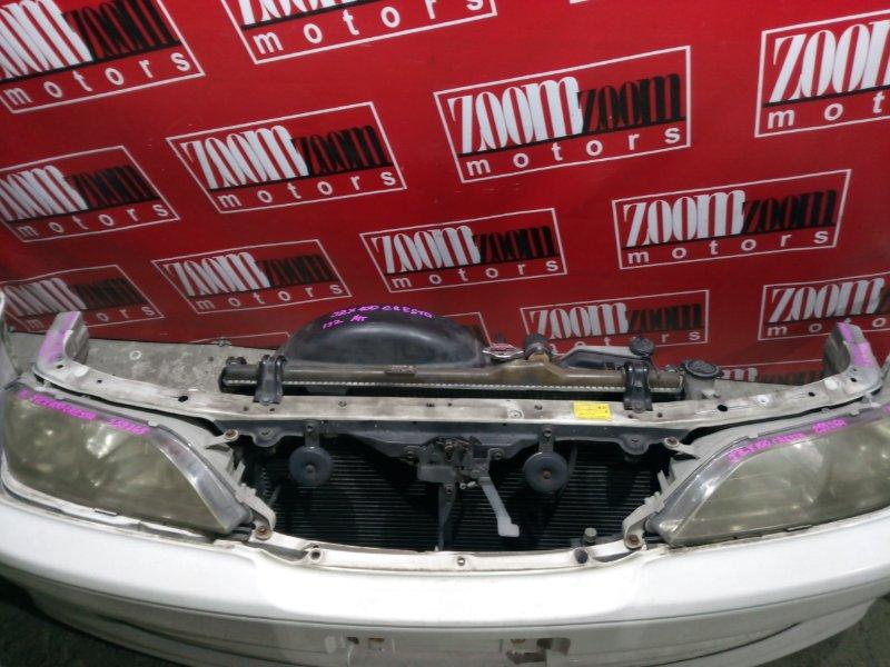 Рамка радиатора Toyota Cresta GX100 1G-FE 1996 передняя белый