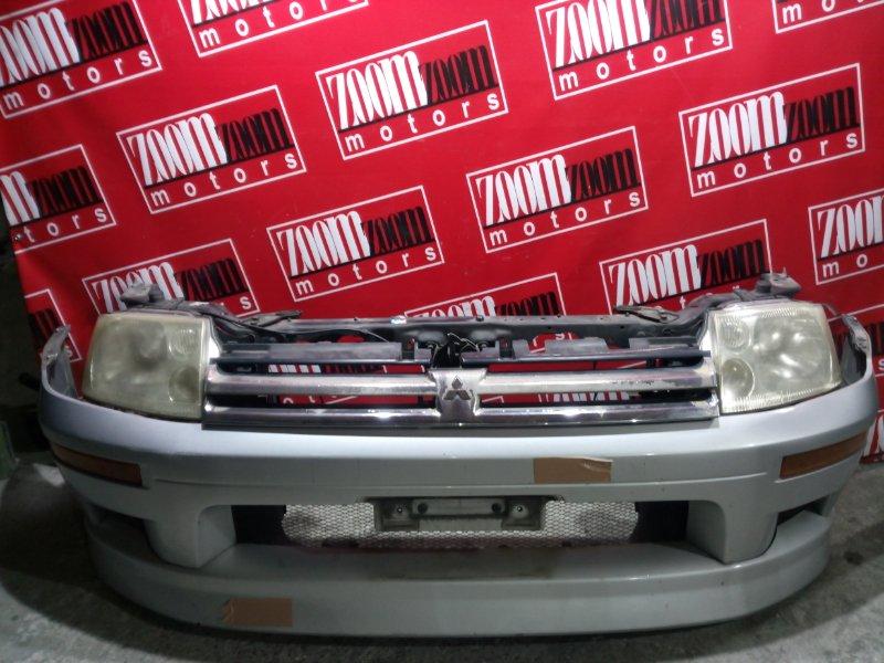 Бампер Mitsubishi Rvr N61W 4G93 1997 передний серебро