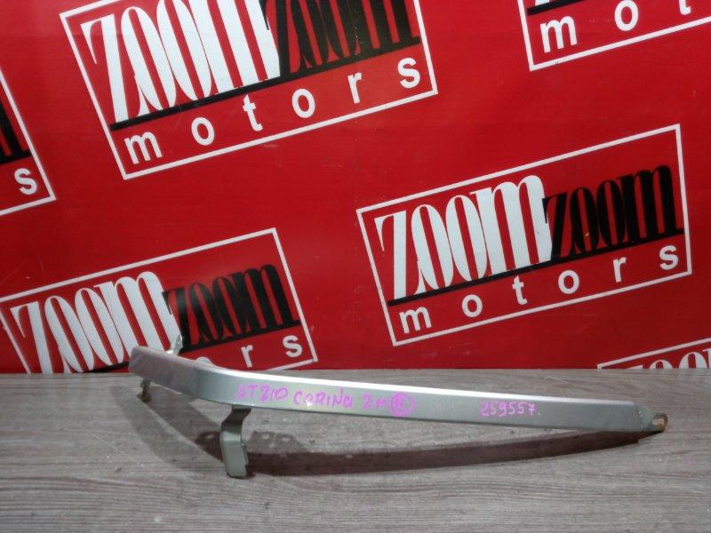 Планка под фару Toyota Carina AT210 7A-FE 1998 передняя правая серебро