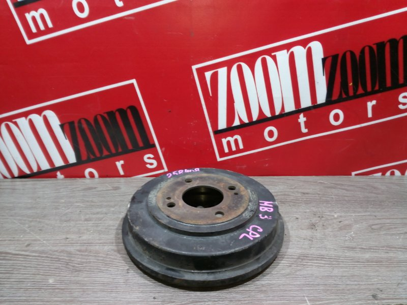 Барабан тормозной Honda Domani MB3 D15B 1996 задний