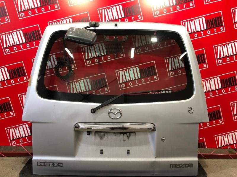 Дверь задняя багажника Mazda Bongo SKP2V L8 2010 серебро