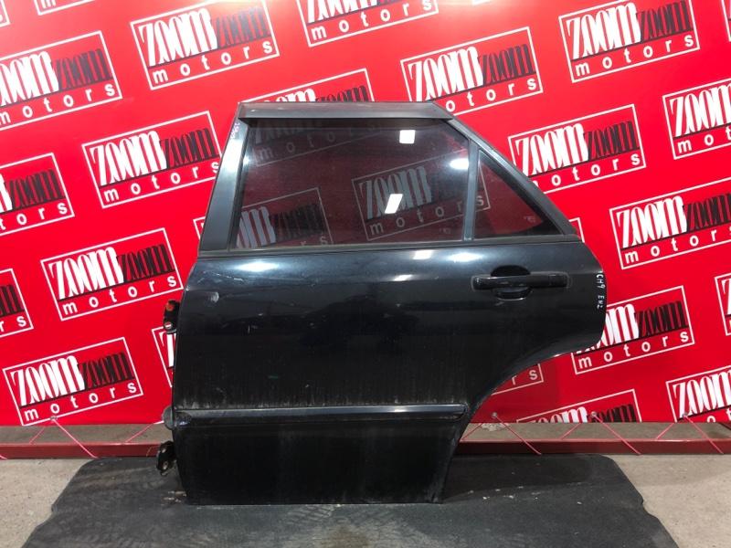 Дверь боковая Honda Accord Wagon CH9 H23A 1997 задняя левая черный