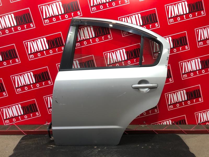 Дверь боковая Suzuki Sx4 YC11S M15A 2007 задняя левая серебро