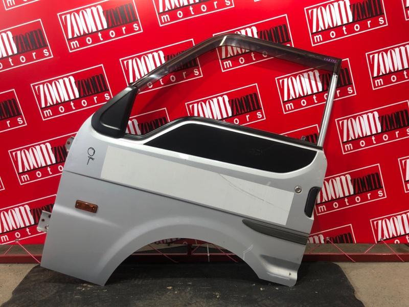 Дверь боковая Mazda Bongo SKP2V L8 2010 передняя левая серебро