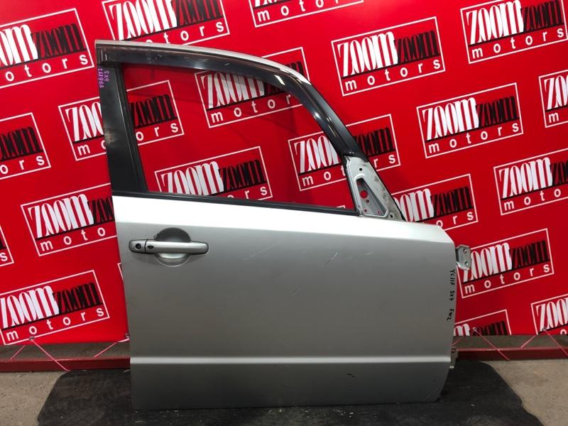 Дверь боковая Suzuki Sx4 YC11S M15A 2007 передняя правая серебро