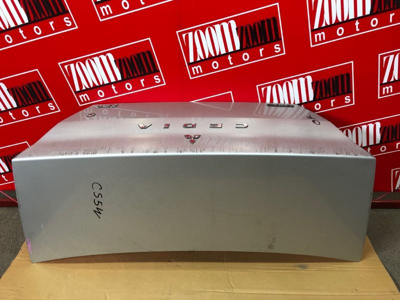 Крышка багажника Mitsubishi Lancer Cedia CS2A 4G15 2000 серебро