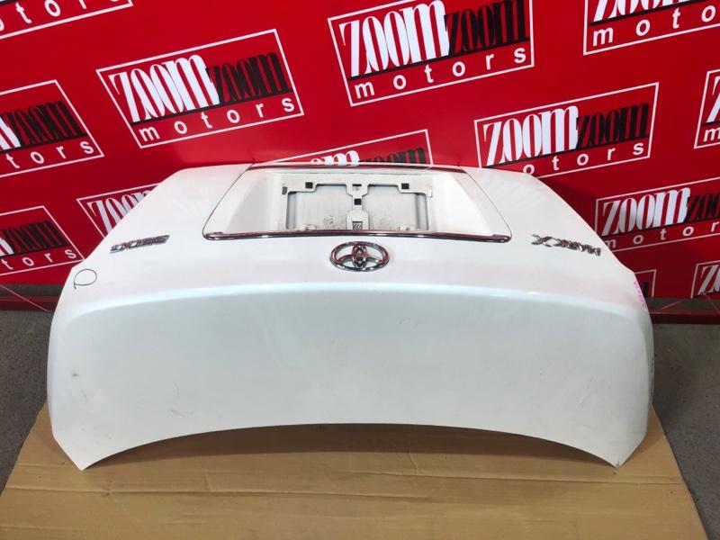 Крышка багажника Toyota Mark X GRX120 4GR-FSE 2004 белый перламутр