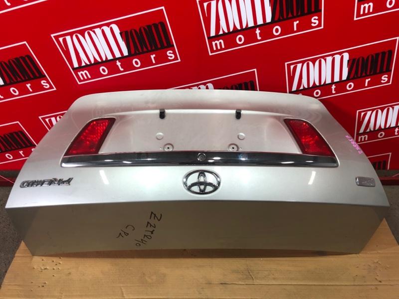 Крышка багажника Toyota Premio ZZT240 1ZZ-FE `2001 серебро