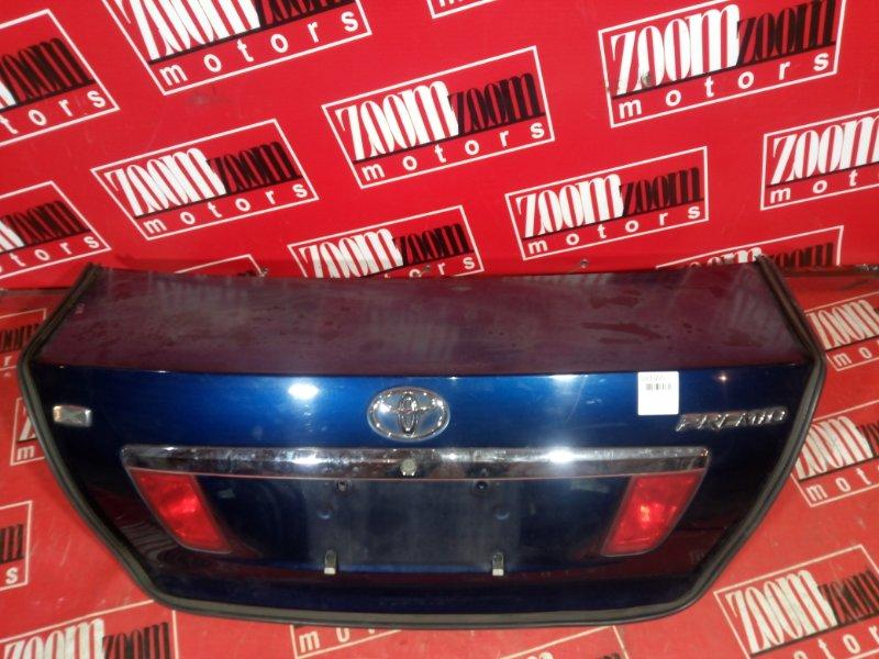 Крышка багажника Toyota Premio NZT240 1NZ-FE 2001 задняя синий