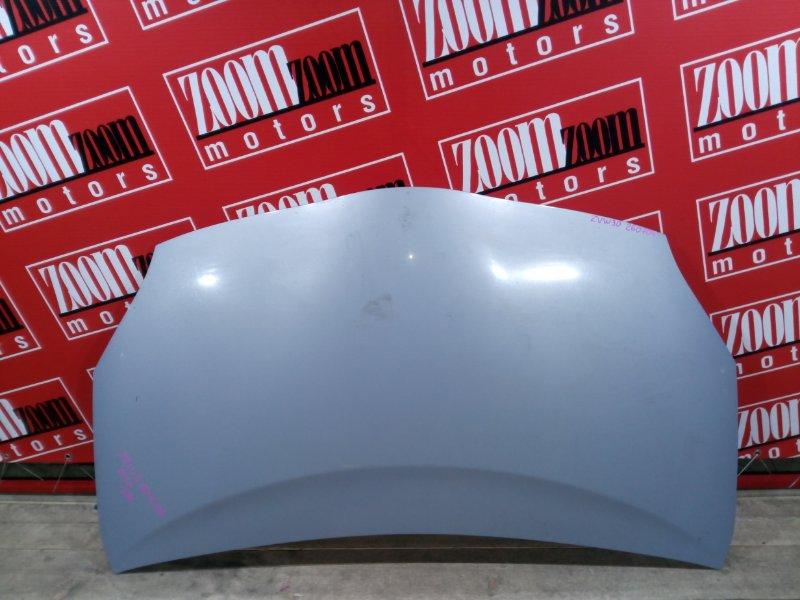 Капот Toyota Prius ZVW30 2ZR-FXE 2009 передний голубой