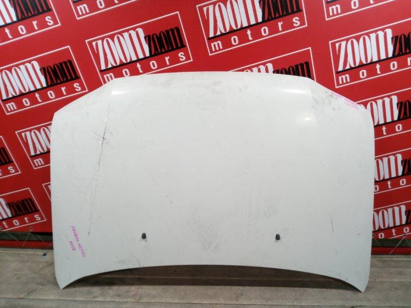 Капот Toyota Probox NCP50 1NZ-FE 2002 передний белый