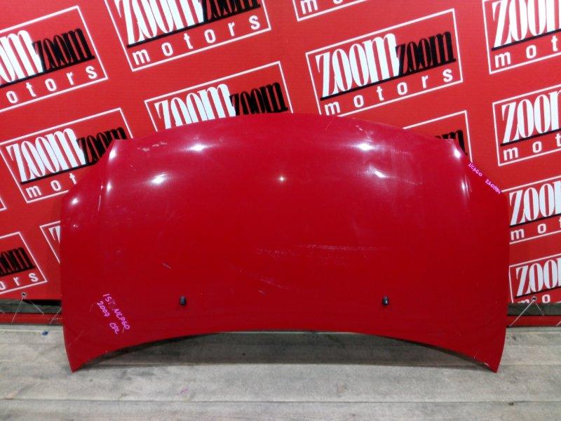 Капот Toyota Ist NCP60 2NZ-FE 2000 передний красный