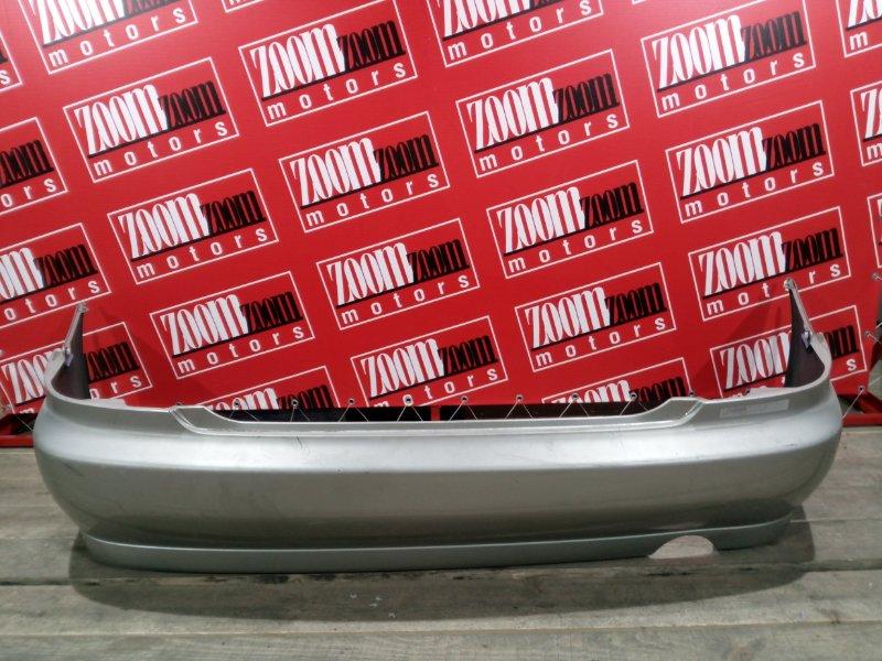 Бампер Toyota Altezza GXE10 1G-FE 1998 задний серебро