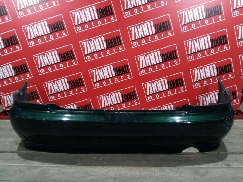 Бампер Toyota Altezza GXE10 1G-FE 1998 задний зеленый