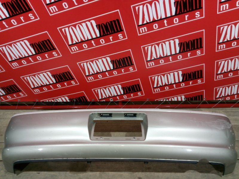 Бампер Toyota Cresta GX100 1G-FE 1996 задний серо-белый