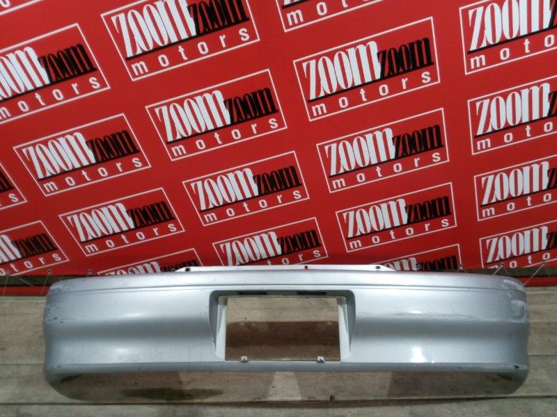 Бампер Toyota Starlet EP82 4E-FE 1992 задний серебро