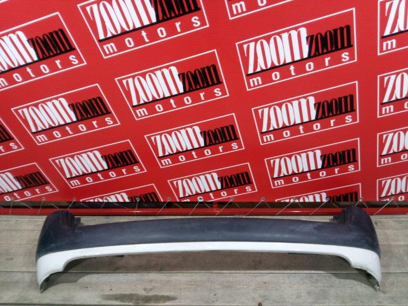 Бампер Toyota Probox NCP50 1NZ-FE 2002 задний белый