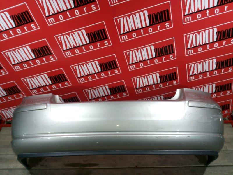 Бампер Toyota Avensis AZT250 1AZ-FSE 2006 задний серебро