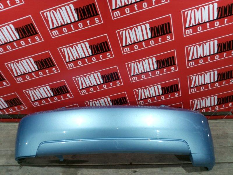 Бампер Toyota Ist NCP60 2NZ-FE 2002 задний голубой
