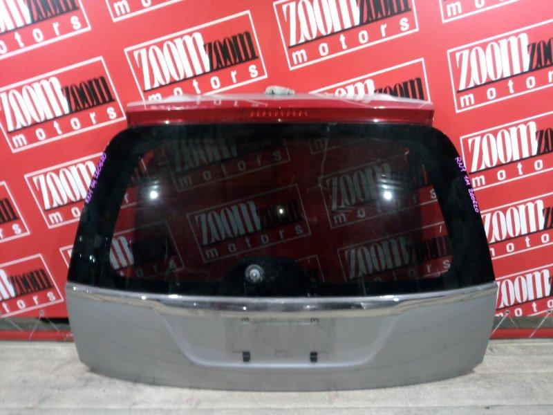 Дверь задняя багажника Honda Stream RN1 D17A 2000 задняя серебро