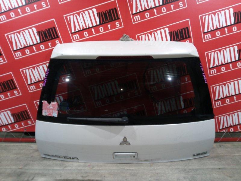 Дверь задняя багажника Mitsubishi Lancer Cedia CS5W 4G93 2000 задняя белый перламутр