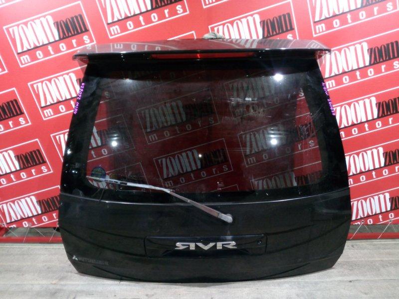 Дверь задняя багажника Mitsubishi Rvr N61W 4G93 1997 задняя черный