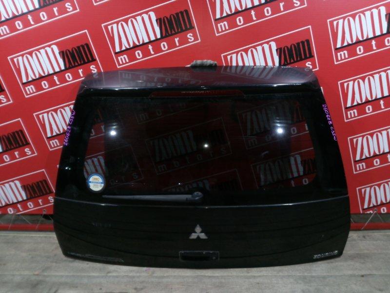 Дверь задняя багажника Mitsubishi Lancer Cedia CS5W 4G93 2000 задняя черный