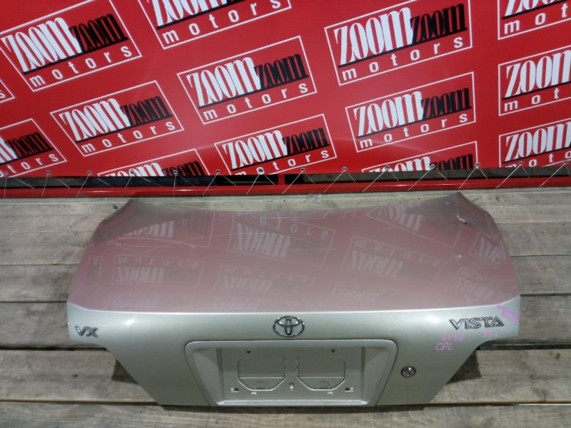 Крышка багажника Toyota Vista SV40 3S-FE 1994 задняя золото