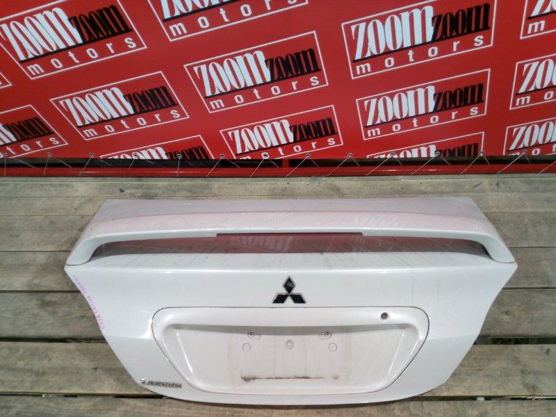 Крышка багажника Mitsubishi Lancer CS2A 4G15 2003 задняя белый перламутр