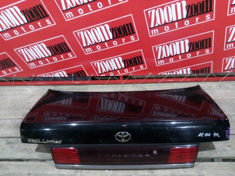 Крышка багажника Toyota Sprinter AE100 5A-FE 1990 задняя черный