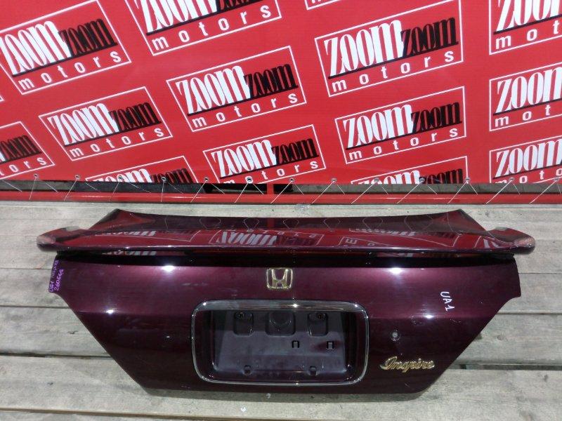 Крышка багажника Honda Inspire UA1 G20A 1995 задняя вишневый