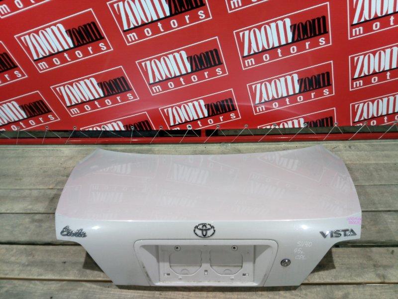 Крышка багажника Toyota Vista SV40 3S-FE 1994 задняя бежевый