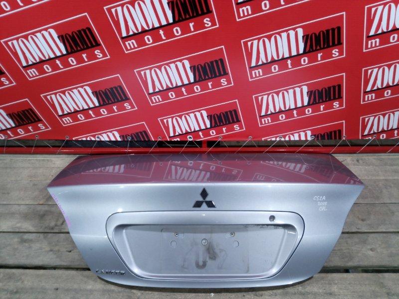 Крышка багажника Mitsubishi Lancer CS2A 4G15 2003 задняя серо - голубой