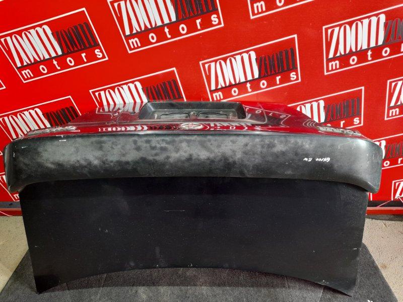Крышка багажника Toyota Chaser GX100 1G-FE 1998 черный