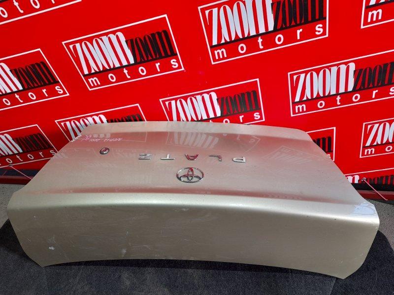 Крышка багажника Toyota Platz NCP12 1NZ-FE 1999 золото